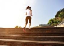 schody, běhání, sport