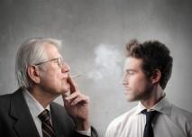 kuřák a nekuřák