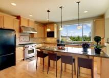 krásný byt kuchyně
