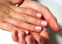 ruce, žena, prst, nehet