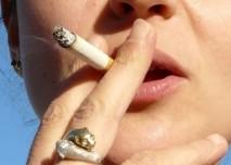 Detail kouření