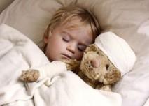 dítě s medvědem