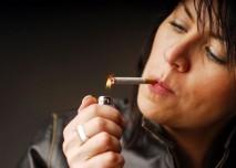 Zapálení cigarety