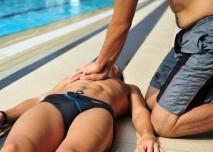 asrdeční masáž
