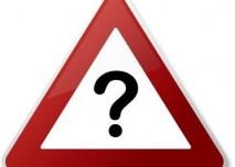 Otazník, pozor,varování,otázka