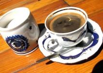 káva, cukr, pití