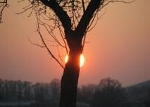 slunce západ