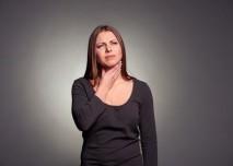 bolest v krku-angina
