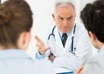 lékař, vyšetření, prohlídka, pacient