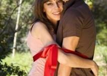 láska, pár, věrnost, jaro, park, příroda, důvěra, vášeň