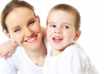 Maminka s chlapečkem