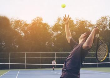 Tenisový zápas