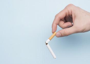 Zlomená cigareta