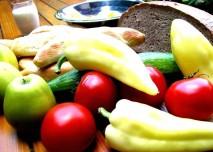 jídlo, zelenina, paprika, rajské jablko