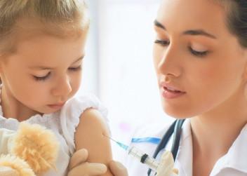 injekce, očkování, děti, doktorka