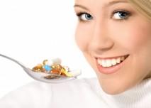 doplňky stravy na lžíci